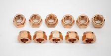Copper Exhaust Header Manifold Nuts M8 X1.25 JIS Porsche BMW Mercedes 8mm  072