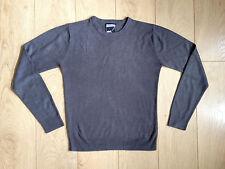 Mens Topman Jumper/Sweater Grey Acrylic XSmall