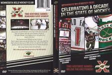 DVD:  MINNESOTA WILD HOCKEY CLUB CELEBRATING A DECADE IN THE STATE HOCKEY