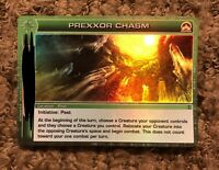 Prexxor Chasm Super Rare Location Chaotic TCG Unused Code