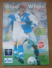 Blackburn Rovers v Liverpool, 30/11/1994 - Signed (Shearer / Thomas) Programme