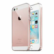 iPhone SE Case Crystal Clear Rubber Shockproof Protective iPhone 5 5s Cover