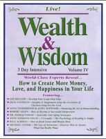 Wealth & Wisdom: Peak Potentials - Live 3 Day Intensive -16CD - Volume V
