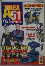 Area 51 Sci-Fi Collecting Magazine No 10 APR 1998 Star Trek-1st contact, more