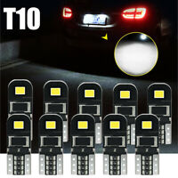 10X T10 194 168 W5W SMD 12V White LED Car HID CANBUS Error Free Wedge Light Bulb