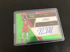 "Norman Powell ""Green On-Card Auto"" ""#'d/65"" 2017-18 Panini Select NBA Card."