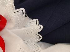 Navy Blue Textured Cotton Slub Fabric- Craft, Sewing,Clothing -140cm x per1/2mtr