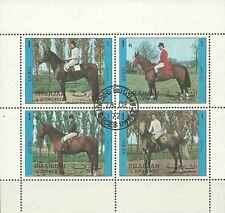 Timbres Chevaux Sharjah Lot B o lot 596