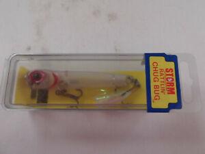 Hard to Find Pre Rapala Storm Rattlin Chug Bug,#RAP,Clear