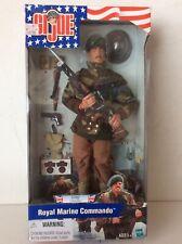 "GI Joe Royal Marine Commando Hasbro 12"" Figure 2001 Mint In Box Sealed New"
