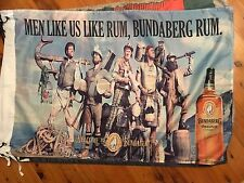 BUNDABERG RUM 5x3 ft man cave flag pool room flag bundaberg rum biker