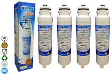 4x icepure rwf1300a Compatible Para Daewoo dw2042fr aguamarina cristal FILTRO DE
