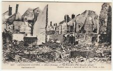 WORLD WAR ONE POSTCARD - Arras - Bombarded Albert (Somme) - Levy & Sons LL 607