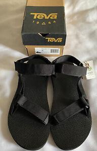 Teva Original Universal Sandals Urban Black Size 10/44