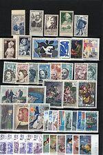 France: 47 TP (1945/97) neufs xx dt 7 séries/paires complètes Yv. 100,80€