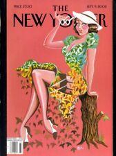 NEW YORKER MAGAZINE 9 SEP 2002 BILL LERACH, PIM FORTUYN, MICK JAGGER, PUFF DADDY