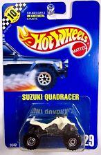 Hot Wheels #129 Suzuki QuadRacer, White