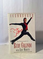 Icebreaker: The Autobiography of Rudy Galindo w/Eric Marcus, Autographed, Hardco