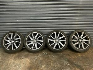 """GENUINE SEAT IBIZA FR 17"""" INCH ALLOY WHEELS AND TYRES X4 FULL SET"""