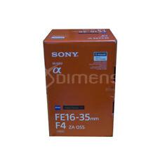 Sony SEL1635Z Vario-Tessar T* FE 16-35mm F/4 ZA OSS Lens Stock in EU Nuevo
