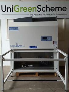 BioAir Safeflow S@feFlow 1.2 Class II Microbiological Safety Cabinet & Stand Lab