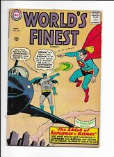 WORLD'S FINEST #153 ==> CLASSIC BATMAN SLAPS ROBIN PANEL DC COMICS