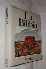 LA BIBBIA Testo ufficiale della Conferenza Episcopale Italiana Marietti 1989 di
