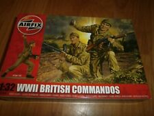 Airfix A02705 - WWII British Commandos. 1 32 Plastic Figures Model Kit