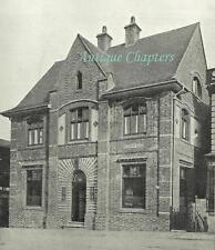 New Patricks Yard 2 Recorder Road Norwich 1913 Photo Article B623