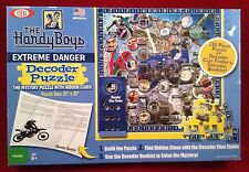 Hardy Boys Extreme Danger Decoder Puzzle Clue Finder & Booklet 250 PC 8-14 IDEAL