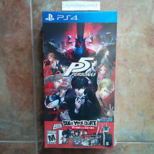 Persona 5: Take Your Heart Limited Premium Edition for PS4 Brand New Sealed