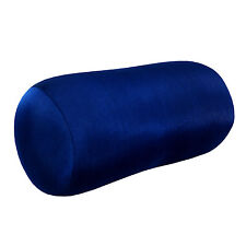 Neck Pillow Travel Cushion Soft Support Flight Shape Head Rest Microbead Blue