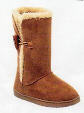 """NEW GIRLS """"RAMPAGE"""" TAMMIE BOOTS - SIZE: 13  COLOR: CHESTNUT"""