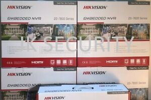HIKVISION DS-7608NI-I2/8P 4K ULTRA HD 8ch NVR GENUINE AUS STOCK 3yr warranty