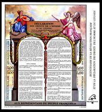 FRANCE Bloc Feuillet 11c Bicentenaire Papier Fluorescent  **  cote 380 euros