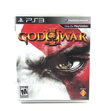 God of War III Sony PlayStation 3 (2010) PS3 - Complete