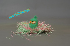 New Angry Birds GREEN Сhildren Kids Toys of wool Handmade / best gift / eco toy
