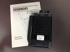 New listing Maxon Sp-2550Sm C16E, with Manual, Ham, Parts