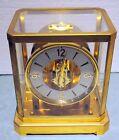 Rare Vintage Jaeger-LeCoultre Atmos Switzerland  15 Jewel Mantle Clock VXN Fine
