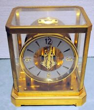 Rare Vintage Jaeger-LeCoultre Atmos Switzerland  15 Jewel Mantle Clock VXN Fine
