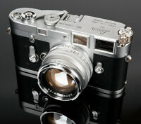 Voigtlander USA WARRANTY 50mm f/1.5 II Silver MC Multi Coat Vintage Line Leica M
