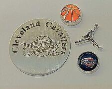 NEW Cleveland Cavaliers Basketball Floating Locket Set *GO CAVS*