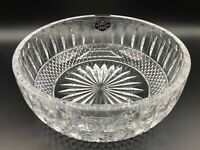 "Saint-Louis France Cut Crystal Tommy Bowl, 8 1/2"" Diameter, 3 1/2"" High"