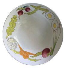 New listing Large Italian Ceramic Serving Bowl 12� Vegetable Salad Pasta Hand Painted