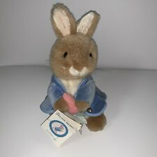 Peter Rabbit Eden Plush With Book Tag Attached