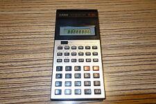 Casio FX 82 A   Taschenrechner. Alt .   Batterie Deckel fehlt
