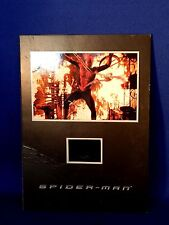 COLLECTIBLE SENSITYPE FILM CELL AMAZING SPIDERMAN MOVIE DVD RARE GIVEAWAY PROMO