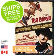 John Wayne Classics Rio Bravo / The Searchers (DVD, 2012) NEW, Sealed, Western