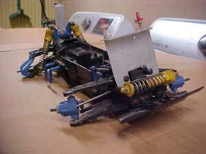 TAMIYA BOOMERANG 4WD  CHASSIS MONSTER TRUCK PROJECT (USED)