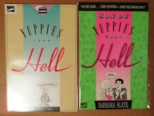 YUPPIES FROM HELL & SON OF YUPPIES #1 Graphic Novels (Barbara Slate) 1989-1990